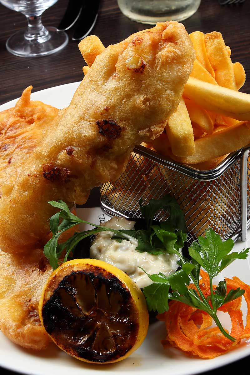 Crispy Beer Battered Cod