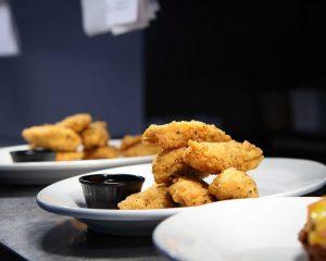 Homemade Crispy Chicken goujons