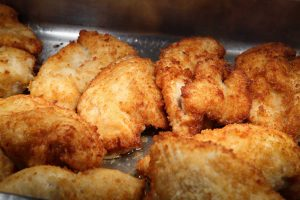 Homemade Crispy Chicken Kiev